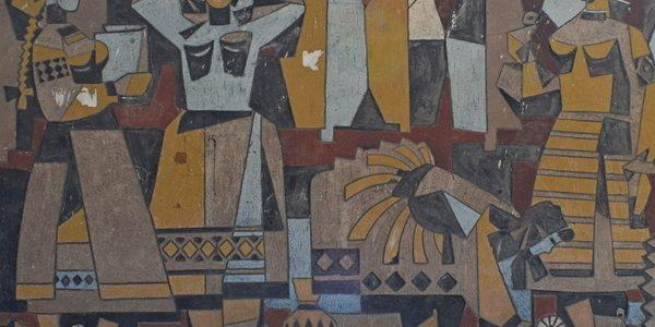 soviet propaganda art from Ukraine