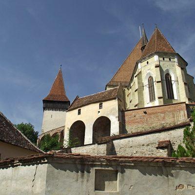 UNESCO Saxon fortified church in Transylvania