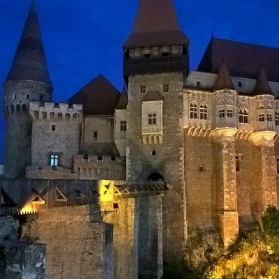 medieval biggest gothic castle in Transylvania