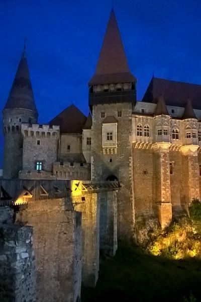 medieval biggest gothic castle in Transylvania