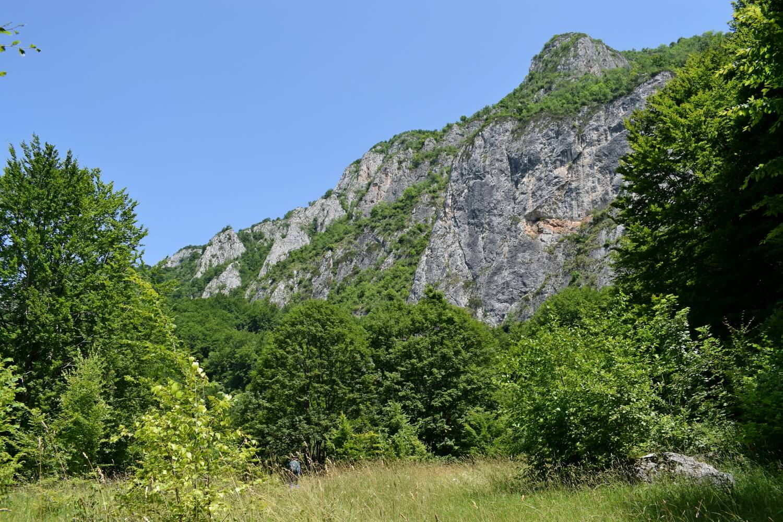 Trascau cliff view