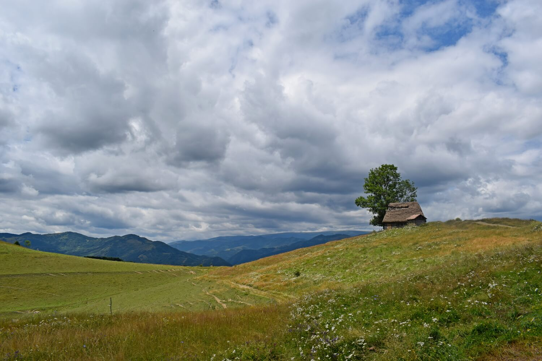 cloudy Apuseni panorama